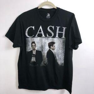 Zion Johnny Cash Black T-Shirt Size L